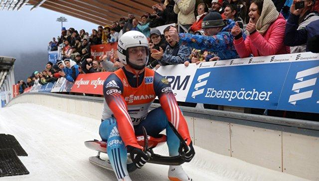 Русский саночник Павлюченко стал чемпионом Европы