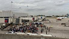 В аэропорту Форт-Лодердейл штата Флорида, где произошла стрельба