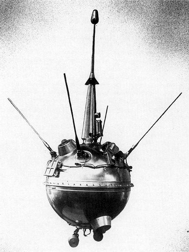 Луна-2 - первая в мире станция, достигшая поверхности Луны