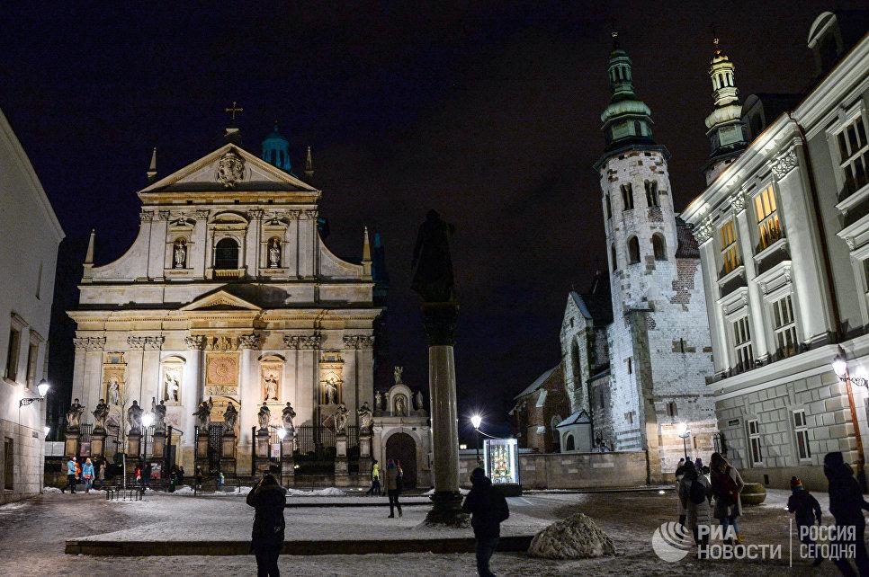 Костел Святых Петра и Павла в Кракове