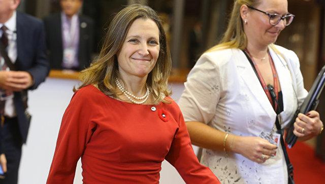 Новый руководитель МИД Канады оказалась под российскими санкциями