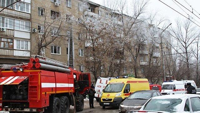 Проводится доследственная проверка пофакту взрыва газа вжилом доме