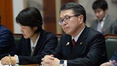 Министр экономики, торговли и промышленности Японии Хиросигэ Сэко. Архивное фото
