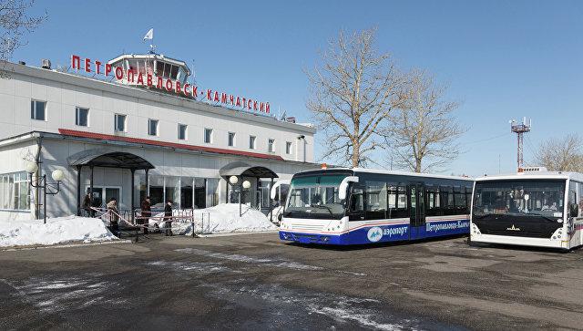 Здание аэропорта в Петропавловске-Камчатском. Архивное фото