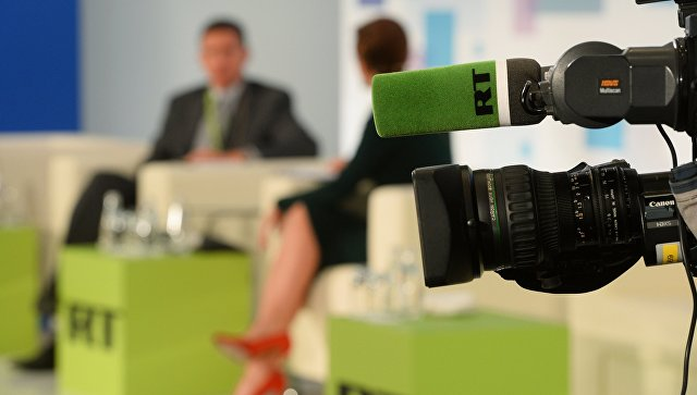 Американский канал прервал трансляцию из конгресса программой RT