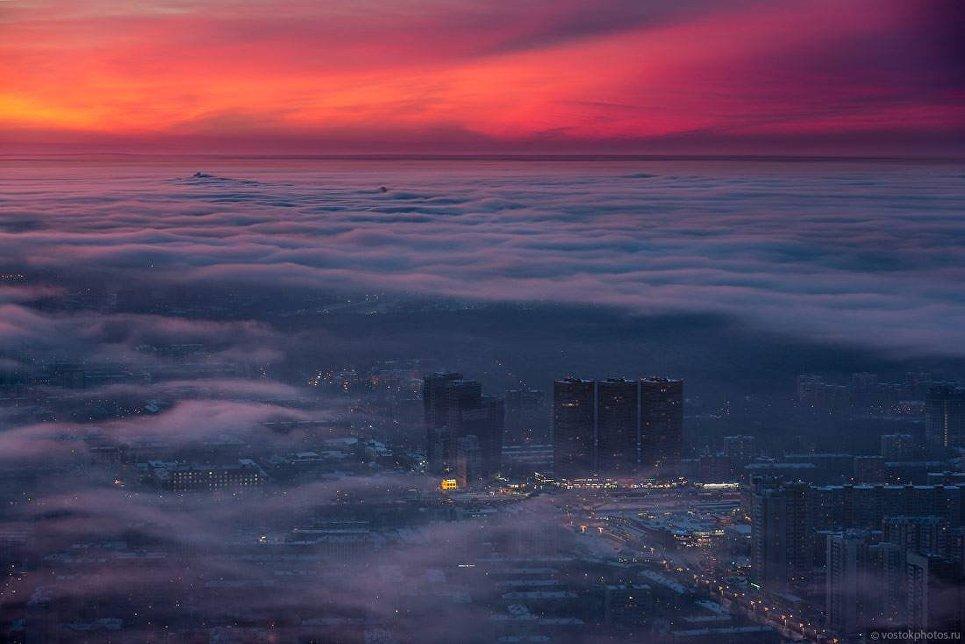 Москва под облаками. Тимирязевская