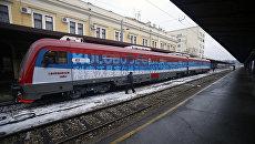 Первый с 1999 года пассажирский поезд, следующий из Белграда в Косово