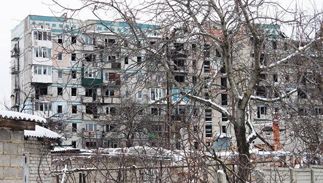 ВГорловке из-за обстрела повреждены 7 жилых домов