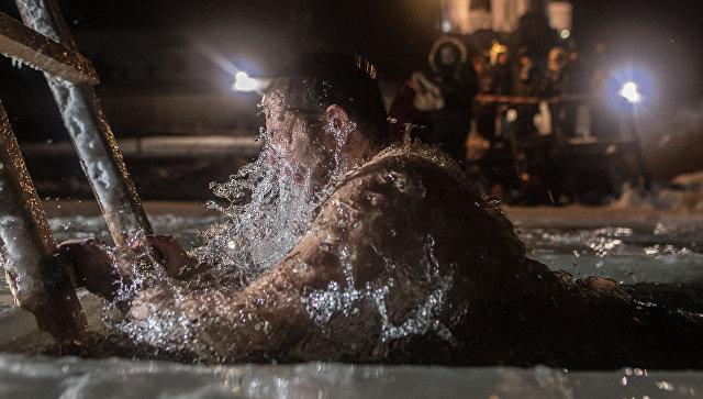 Крещение. Архивное фото