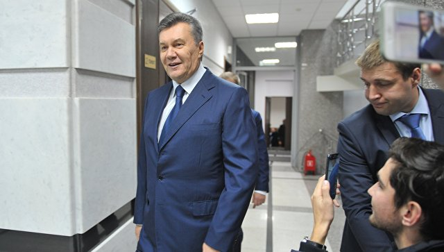 Янукович обратится кмеждународному обществу поделу оМайдане