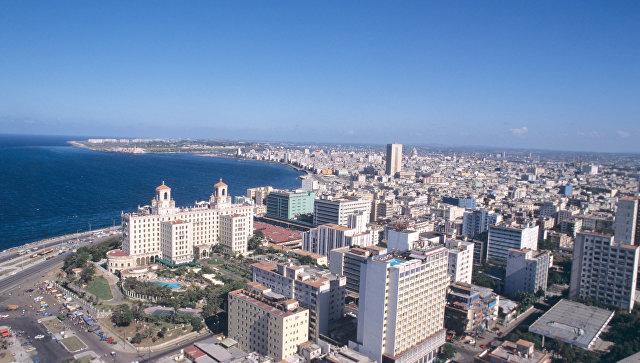 Вид города Гаваны