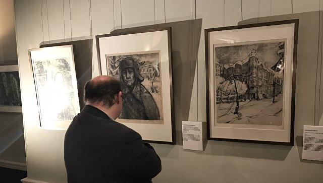 выставка в кембридже