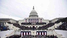 La cerimonia di inaugurazione del presidente 45 degli Stati Uniti, Washington.  20 gennaio 2017