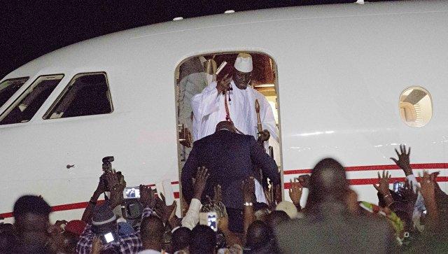 Армия отказалась воевать заДжамме— Конфликт вГамбии