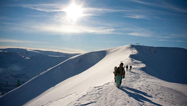Вгорах РФ произошел сход лавины, погибли туристы