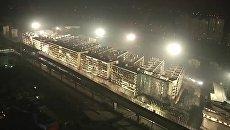 Снос зданий в Китае