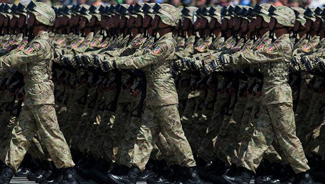 Военный парад в честь 70-летия Победы в Пекине, архивное фото