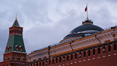 Купол Сената и Сенатская башня Московского Кремля. Архивное фото