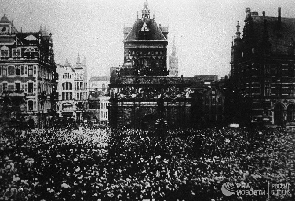 Вооружённое восстание рабочих, солдат и матросов в Петрограде. 25 октября 1917