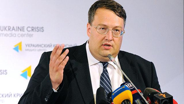 Советник главы МВД Украины Антон Геращенко. Архивное фото