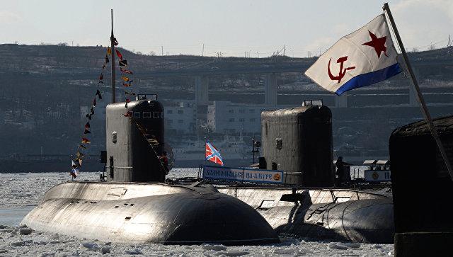 Дизельная подводная лодка. Архивное фото