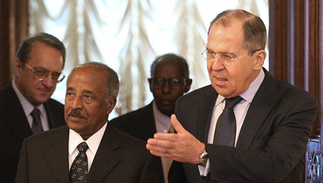 Лавров обсудит сглавой МИД Эритреи разблокирование конфликтов вАфрике