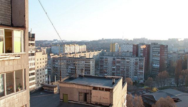 Вид на город Днепр (Днепропетровск). Архивное фото