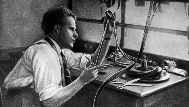 Советский режиссер С.М.Эйзенштейн. Архивное фото