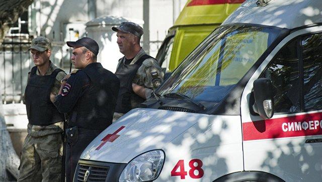 Нападение на станцию скорой помощи в Симферополе. Архивное фото