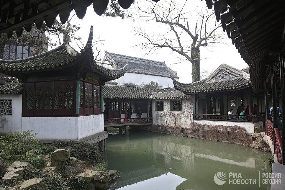 Парк Сад Скромного Чиновника в Сучжоу