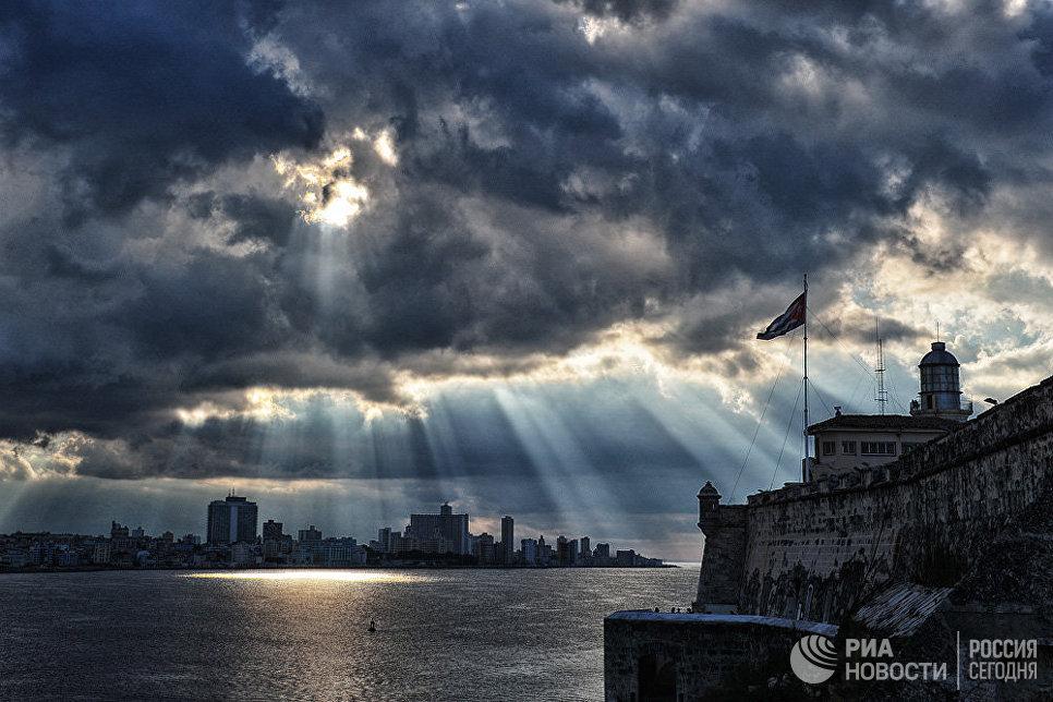 Вид с крепости El Morro, Гавана