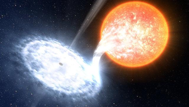 Изображение звезды. Архивное фото