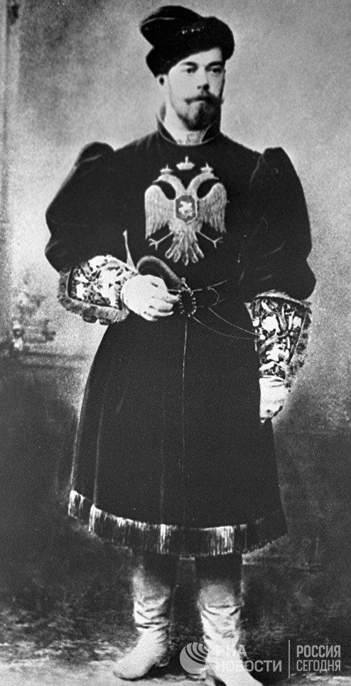 Император Николай II в русском костюме. Санкт-Петербург, конец 1890-х гг.