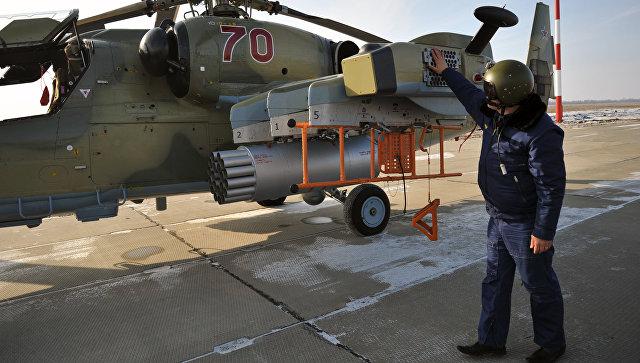 Вертолеты Ка-52 Аллигатор во время летно-тактических учений. Архивное фото