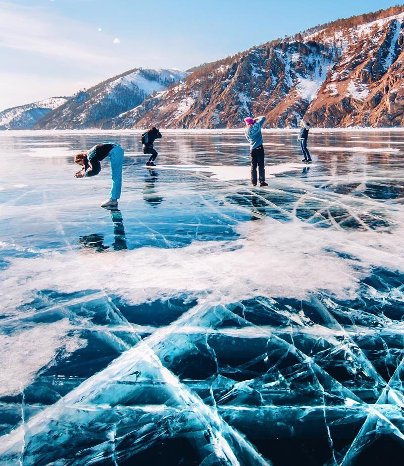Ледяной Байкал