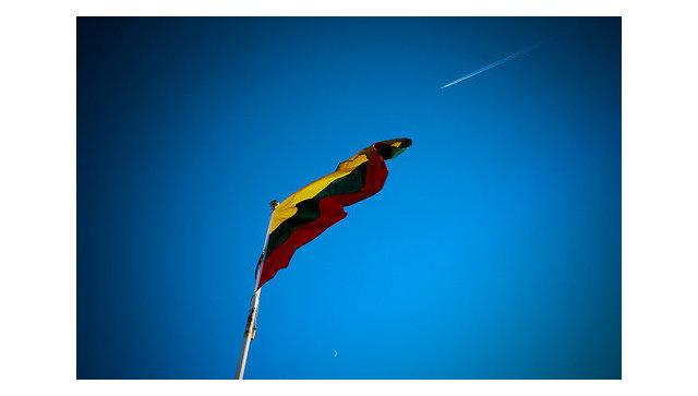 Флаг Литвы. Архив