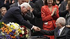Франк-Вальтер Штайнмайер избран двенадцатым президентом Германии