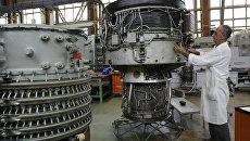 В цеху ОАО Мотор Сич в Запорожье, Украина. Архивное фото