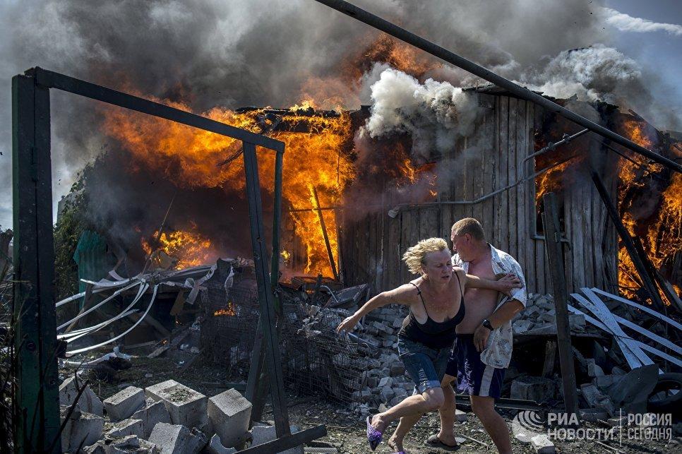 Фотография Валерия Мельникова В последний момент - первое место в номинации Новости о катастрофах