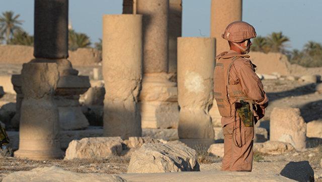Шойгу: российские военные полностью выполнили задачи в Пальмире