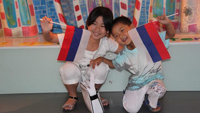В российском павильоне на Всемирной универсальной выставке в Шанхае отметили День Государственного флага России. Архивное фото