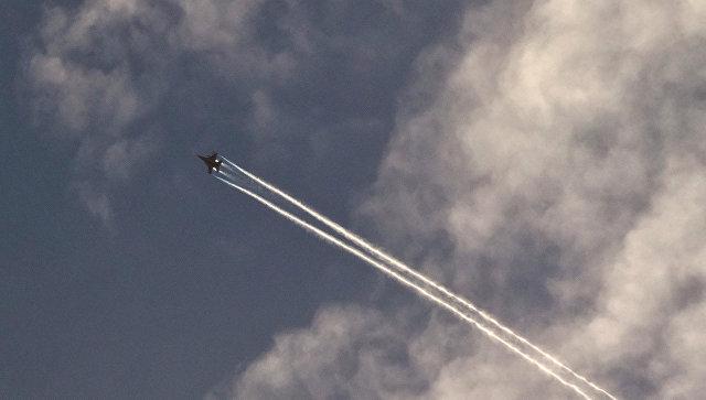 Самолет военно-воздушных сил США, Сирия. Ноябрь 2014. Архивное фото