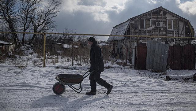 Житель села Веселое Донецкой области