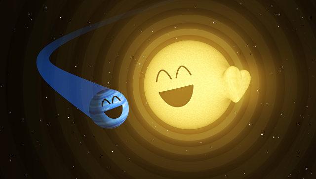 Ученые пояснили загадочные пульсации звезды HAT-P-2