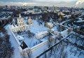 Вид на Спасо-Андроников монастырь в Москве