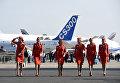 Стюардессы авиакомпании Аэрофлот