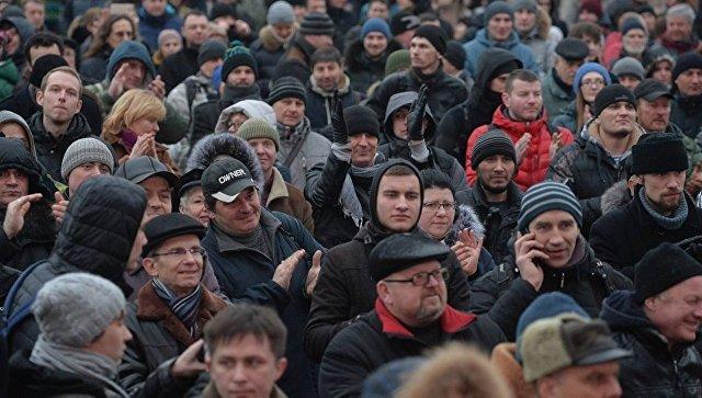 Марш рассерженных белорусов в Минске