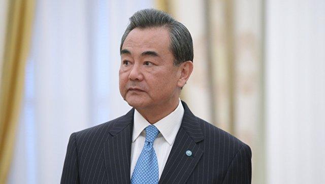Министр иностранных дел Китайской Народной Республики Ван И, архивное фото
