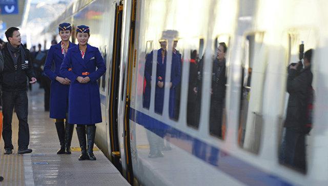 Вокзал в Китае. Архивное фото