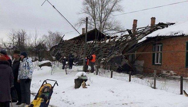ВТульской области эвакуировали 17 человек из-за обрушения кровли